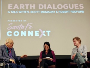 N Scott Momaday, Jill Momaday, Robert Redford